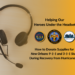 Helping Our Heroes Under the Headset (New Orleans 9-1-1 & 3-1-1 Dispatchers and Call Takers) During the Hurricane Ida Recovery